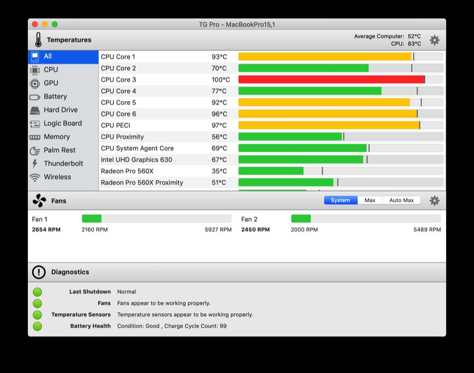 TG Pro 2.49 Mac 破解版 Mac上实用的温度监测软件